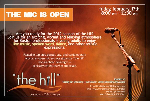 Mars Hill Fellowship Church > Boston, MA >